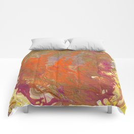 Sunset Relived Comforters