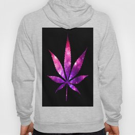Weed : High Times fuchsia Pink Purple Galaxy Hoody
