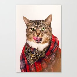 Vivienne Cat Canvas Print