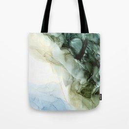 Land and Sky Abstract Landscape Painting Tote Bag