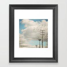 Sky Dance  Framed Art Print