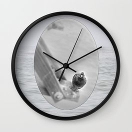 Pidgeon Outpost Wall Clock