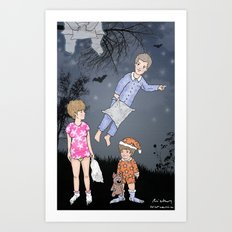 Insomniacs - Once upon a time out Art Print