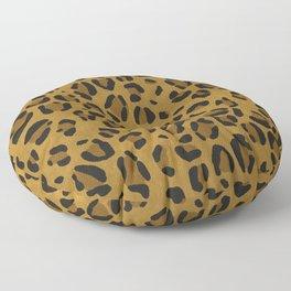 Scene Kid Leopard Print (GOLD) Floor Pillow