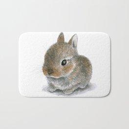 Rabbit 61 Cute bunny Bath Mat
