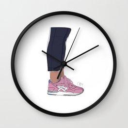 Sneakers Gel Lyte 5 Rose Gold Wall Clock