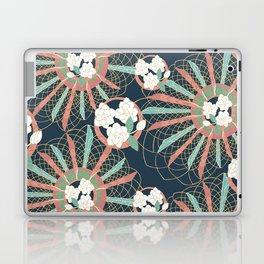 Gardenia art deco Laptop & iPad Skin