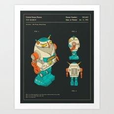 ROBOT (1982) Art Print