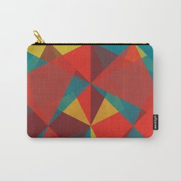 Triangular Pattern #4 Carry-All Pouch