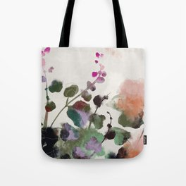 floral abstract summer autumn Tote Bag