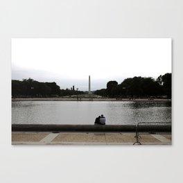 Watching Washington Canvas Print