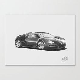 Bugatti Veyron EB Canvas Print
