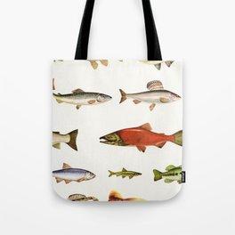 Fishing Line Tote Bag