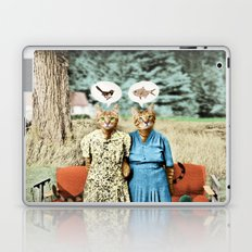 Two Cool Kitties: What's for Lunch? Laptop & iPad Skin