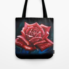 Rose Painting by Fwa Tote Bag