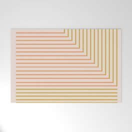 Lines & Circle 02 Welcome Mat