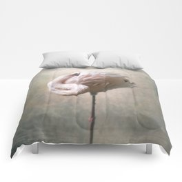 Sleeping Flamingo  Comforters