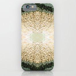Symmetrical kaleidoscope surreal of gours calcite formation rimestone iPhone Case