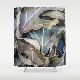 It Happens In Autumn Shower Curtain