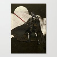darth vader Canvas Prints featuring Darth Vader by Peter Coleman