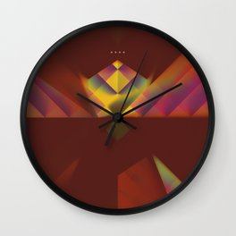 After The Drop Wall Clock