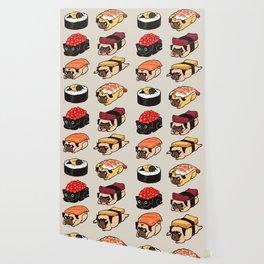 Sushi Pug Wallpaper