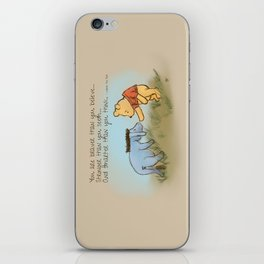 You Are Braver Than You Believe iPhone Skin