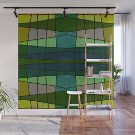 Green Pattern Turtle Wall Mural