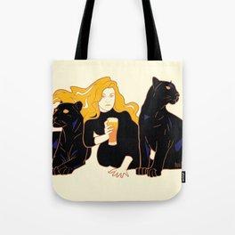 Panther Brews Tote Bag