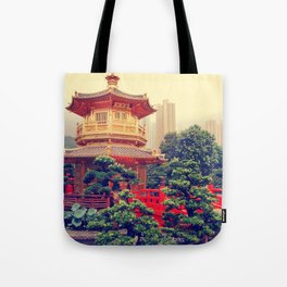 Hong Kong Oasis Tote Bag