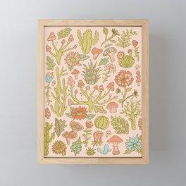 Botanical Illustration Framed Mini Art Print