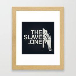 The Slave One Framed Art Print