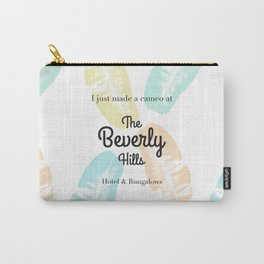 The Beverly Hills Hotel Leaf Carry-All Pouch