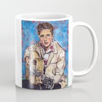 elvis Mugs featuring Elvis by Buttons McTavish