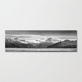 Mount Cook Panorama Canvas Print