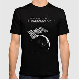 ISS-International Space Station/Space/Astronomy T-shirt