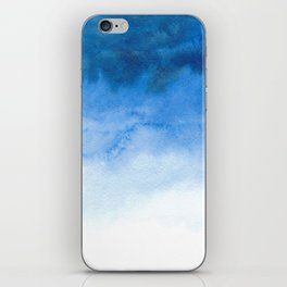 Handpainted watercolor wash iPhone Skin