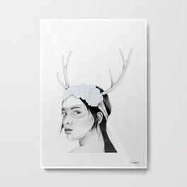 Lexa Metal Print