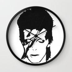 Ziggy Stardust Wall Clock