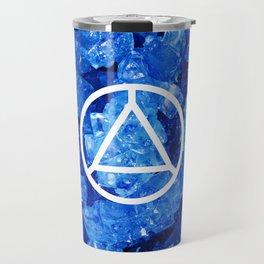 Sapphire Candy Gem Travel Mug
