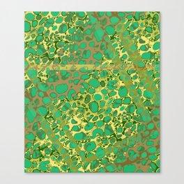 Vibrant Sponges 6.0 Canvas Print