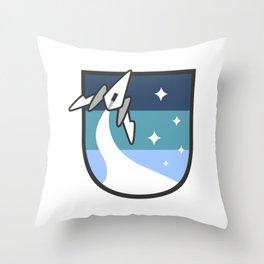 Space Fleet Throw Pillow