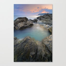 """Mediterraneo"" Canvas Print"