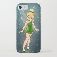 tinker bell iPhone & iPod Cases featuring Tinker Bell by Anais.Lalovi