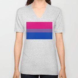 Bisexual Pride Flag Unisex V-Neck