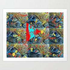 Abstracted Sex. Art Print