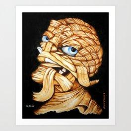 Lester Monster Art Print
