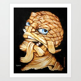 Lester Monster Art Print
