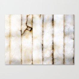 Weathered Alabaster (vertical) Canvas Print