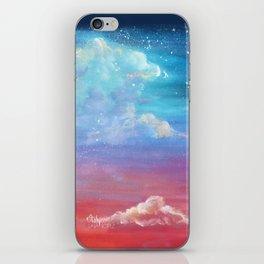 Sky lights iPhone Skin